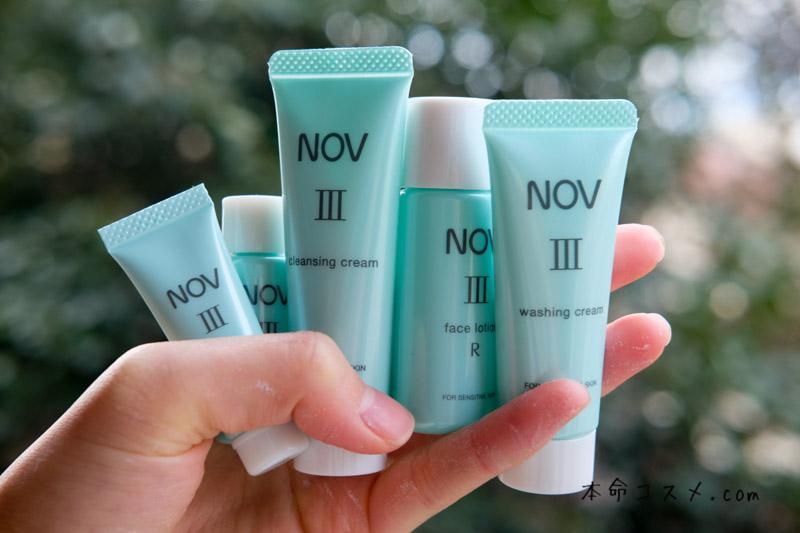 NOVⅢシリーズで肌のバリア機能を高めて敏感肌を克服できる?美容部員本音口コミレビュー